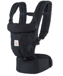Ergobaby Three Position Adapt Baby Carrier Pure Black