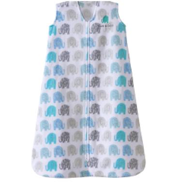 Halo SleepSack Wearable Blanket Microfleece TOG 1.0 Textured Elephant