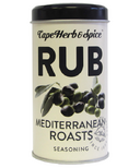 Cape Herb & Spice Rub Shaker Tin Mediterranean Seasoning