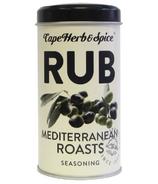 Cape Herb & Spice Rub Shaker Tin Assaisonnement méditerranéen