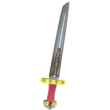 Great Pretenders Ninja EVA Sword Red and Black