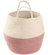 Lorena Canals Zoco Natural Basket Ash Rose