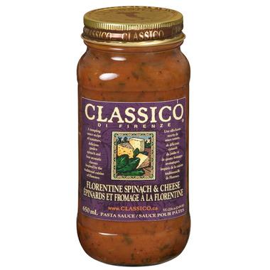 Classico Florentine Spinach & Cheese Pasta Sauce