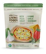 hOMe Grown Living Keto U-Bake Pizza Crust Mix Garlic Rosemary