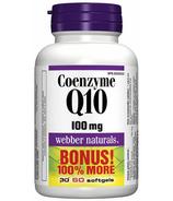 Webber Naturals Coenzyme Q10 100 mg