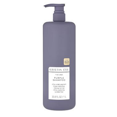 Kristin Ess Hair 1 Liter Purple Shampoo