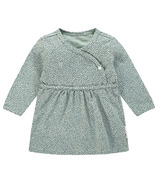 Noppies Mattie Long Sleeve Dress Grey Mint