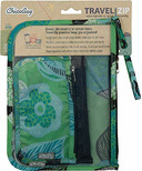 ChicoBag Travel Zip Pouches Aqua Dreams
