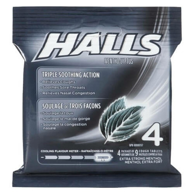 Halls Multi Lozenges Extra Strong Menthol