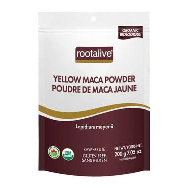 Rootalive Organic Yellow Maca Powder