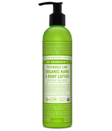 Dr. Bronner's Organic Lotion For Hands and Body Patchouli Lime