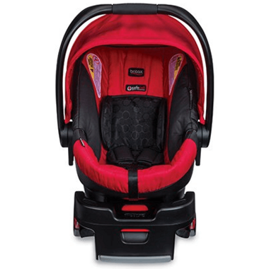 Britax B-Safe 35 Infant Car Seat Red