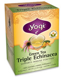 Yogi Tea Green Tea Triple Echinacea