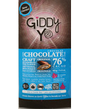 Giddy Yoyo Organic Chocolate Bar Original