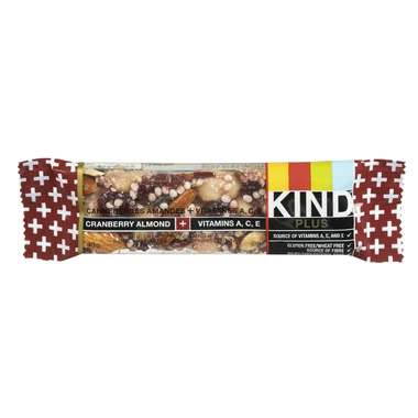 KIND Plus Cranberry Almond + Antioxidants Bars