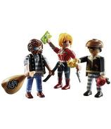 Playmobil City Action ensemble de figurines voleurs