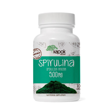 Kapok Naturals Spirulina Capsules