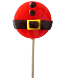 papabubble Handcrafted Lollipop Santa Belly