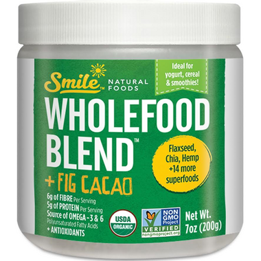 Smile Natural Foods Wholefood Blend Fig and Cacao
