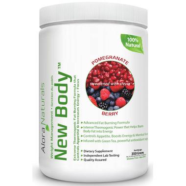 Alora Naturals New Body Pomegranate Berry