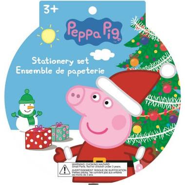 Peppa Pig Holiday Mini Surprise Stationery Set