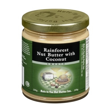 Nuts to You Rainforest Nut Butter With Coconut