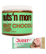Quest Nutrition & Nuts n More Mint Seasonal Protein Bundle