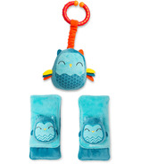 Diono Harness Soft Wraps & Linkie Toy Owl Character