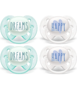 Philips AVENT Ultra Soft Pacifier Dreams and Happy Designs