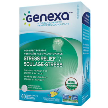Genexa Stress Relief Organic Remedy