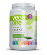 Vega One Unsweetened Natural Flavoured