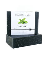 All Things Jill Charcoal + Mint Bar Soap
