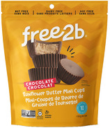 free2b Chocolate Sunflower Butter Mini Cups