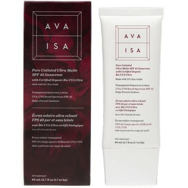 Ava Isa Pure Untinted Facial Sunscreen