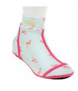 Duukies Beachsocks Flamingo Mint