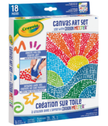 Crayola Crayon Melter Accessory Pack Canvas Art Set