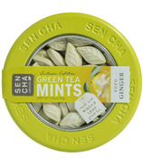 Sencha Naturals Green Tea Mints Tin Yuzu Ginger