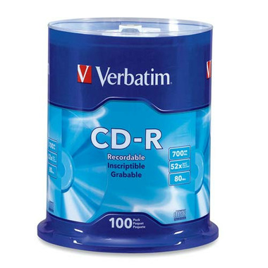 Verbatim Recordable CD