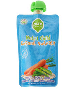 Pure Organic Foods Baby Carrot, Peas & Quinoa