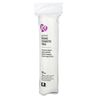 KIT Quilted Round Cosmetic Pads