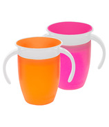 Munchkin Miracle 360 Trainer Cup Orange & Pink