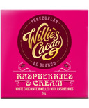 Willie's Cacao Venezuelan El Blanco Raspberries & Cream Bar