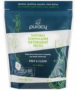 Unités capsule de détergents naturels pour lave-vaisselle Puracy
