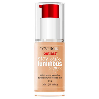 CoverGirl Outlast Stay Luminous Foundation Creamy Natural (820)