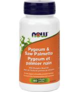 Pygeum et Palmier nain NOW Foods