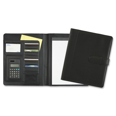 Hilroy Flap Closure Padfolio with Calculator