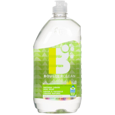 Boulder Clean Natural Liquid Dish Soap Apple Orchard
