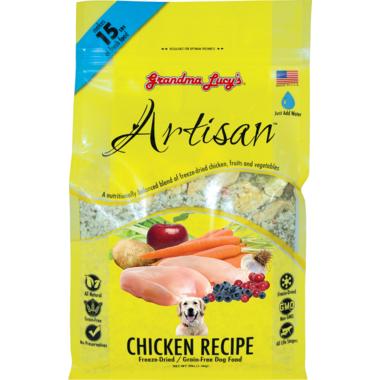 Grandma Lucy\'s Artisan Chicken Recipe Freeze-Dried Grain-Free Dog Food