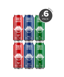 Sober Carpenter Non-Alcoholic Craft Beer Variety 6 Pack Bundle