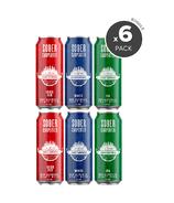 Sober Carpenter Non-Alcoholic Craft Beer Variety 6 Pack Bundle